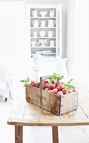 Vintage French Apple Crate