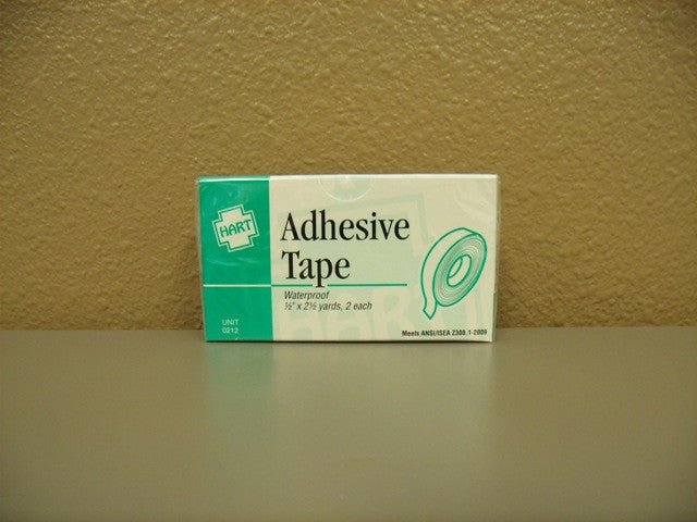 "Tape, Adhesive Cloth 1/2"" by 2.5 Yards 2ct."