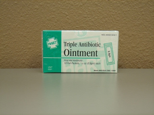 Triple Antibiotic Ointment 10 Count