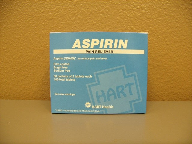 Aspirin, 50 Packets