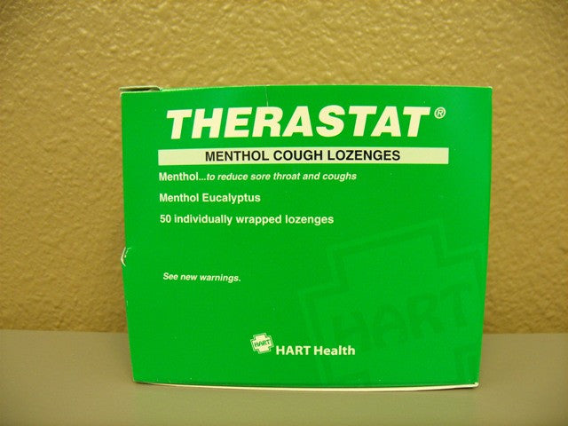 Therastat Menthol Cough Lozenges