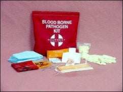 Bloodborne Pathogen Kit With Velcro