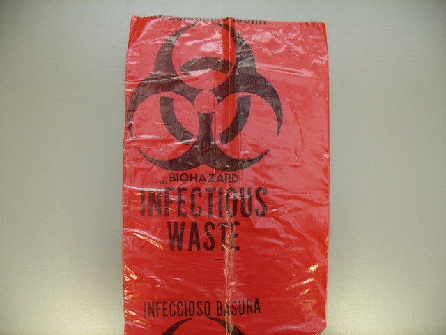 Bio-Hazard Bag, Small