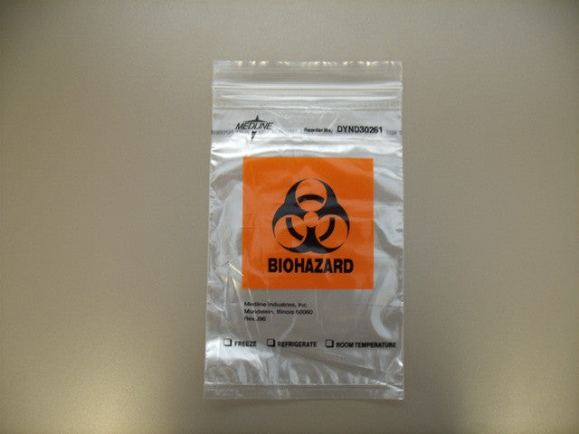 Bio-Hazard Ziplock Bag