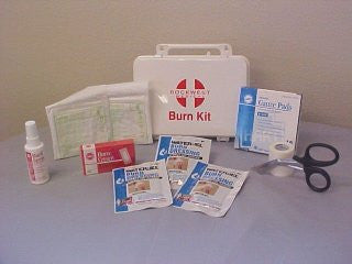 Burn Kit, Medium, Plastic Case