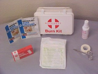 Burn Kit, Small, Plastic Case