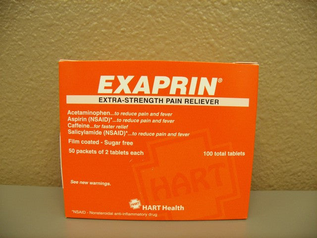 Exaprin Extra Strength 50 packets