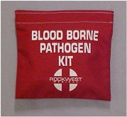 Bloodborne Pathogen Bag With Velcro, Empty