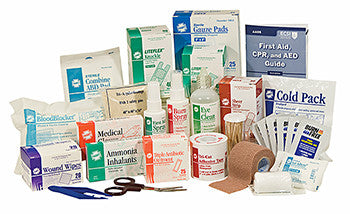 Refill Items For First Aid Station Without Pain & Cold Medicine