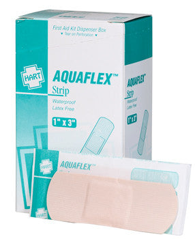"Aquaflex 1X3"" Waterproof Bandage - 50 Count"