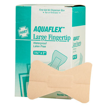 Aquaflex Fingertip Waterproof Bandage - Large - 25 Count