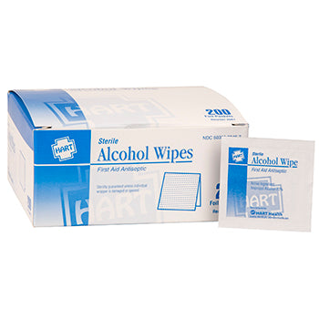 Alcohol Wipes - 200 Count