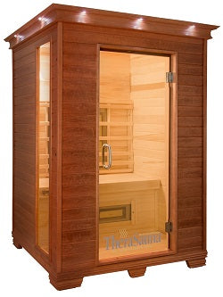 TheraSauna TS5753 Two Person Infrared Health Sauna