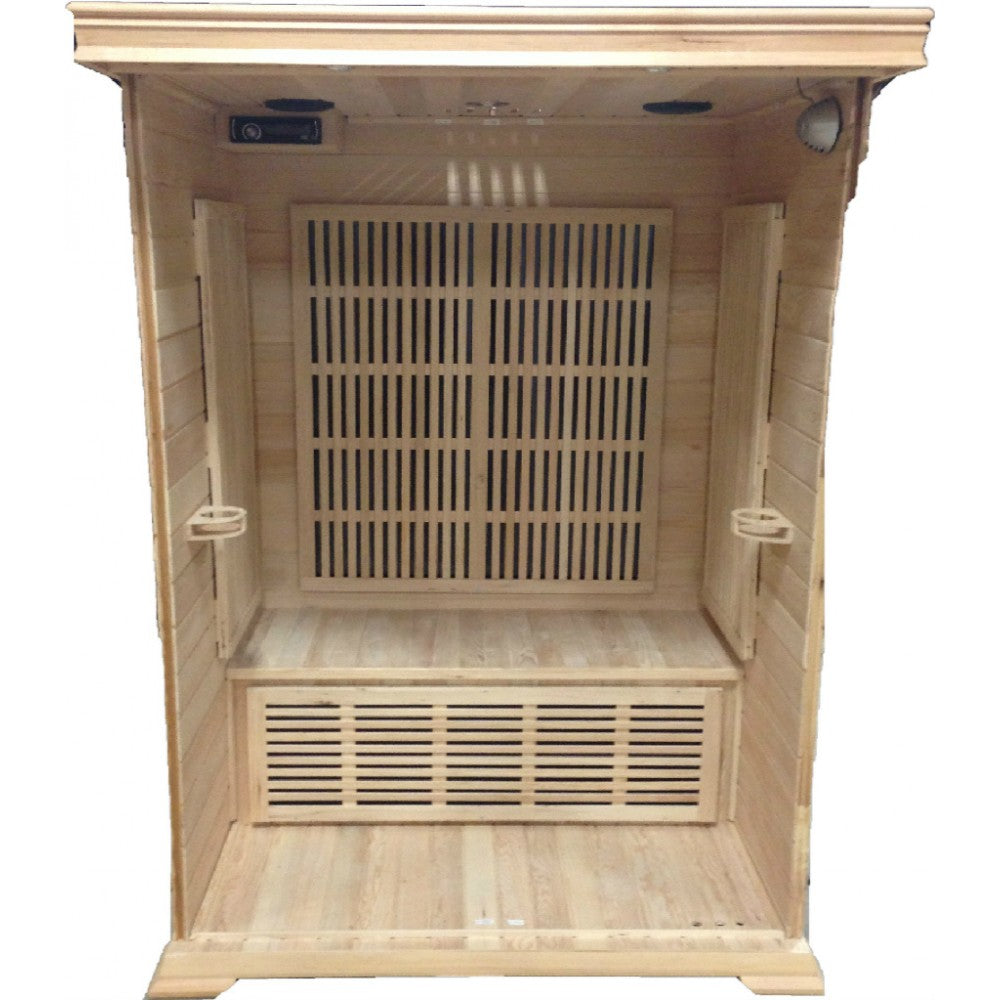 Sunray Saunas HL200K1 Cordova 2 Person Infrared Sauna