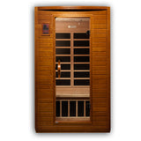 Dynamic 2-person Low EMF Far Infrared Sauna, Andora Edition DYN-6202-03