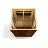 Dynamic 2-person Low EMF Far Infrared Sauna, Vittoria Edition DYN-6220-01