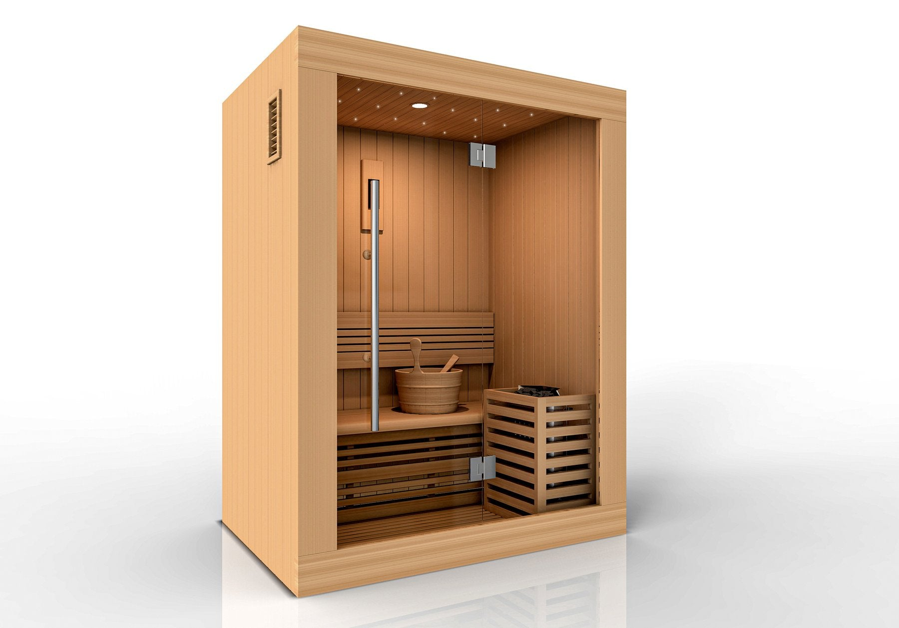 Golden Designs Sundsvall Edition 2 Person Traditional Sauna GDI-7289-01