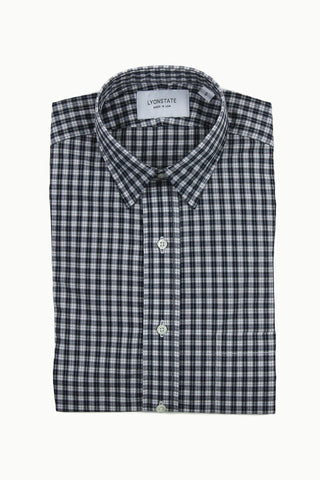 Plaid Small Point Sport Shirt