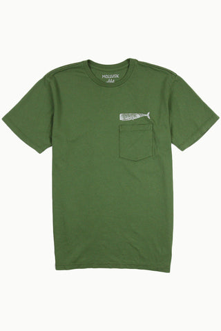 Whale Pocket T-Shirt