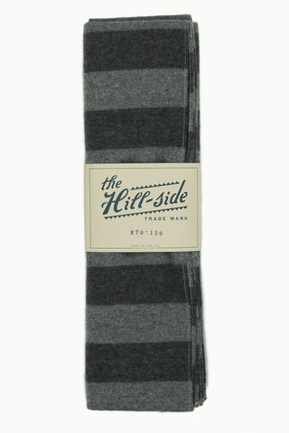Border Stripe Flannel Scarf