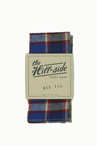 Plaid Pocket Square