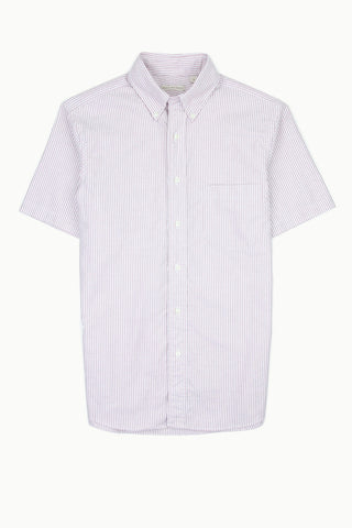 Oxford Stripe Short Sleeve