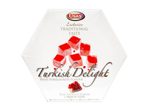 Usas Traditional Turkish Delight - Pomegranate Flavor