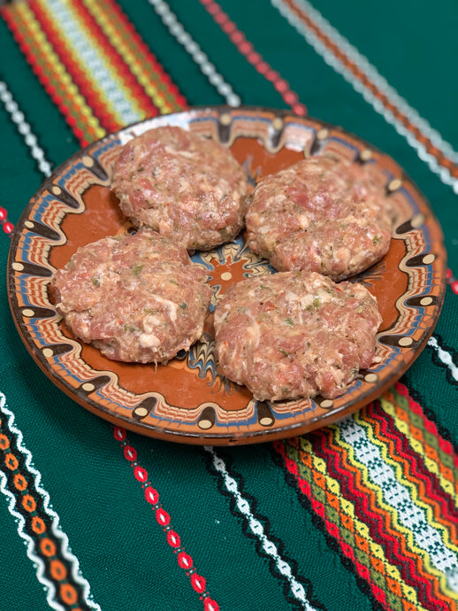 SPICY KUFTE - Bulgarian Meatball Patties