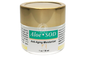Aloe*SOD® = SOOTHE ON DEMAND Moisturizer, 1 oz.-Skin Care-Intensive Nutrition Inc.