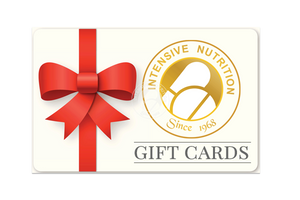 The gift of health! Gift cards from Intensive Nutrition