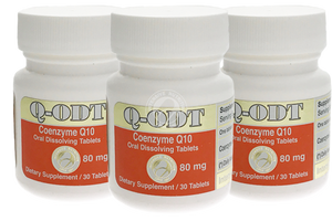 Q-ODT® (CoQ10) Set of 3 (3 month supply)-Antioxidant-Intensive Nutrition Inc.