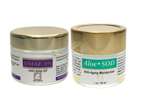 Renew Skin Package: DMAE Gel 3% & AloeSOD