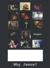 Deeper: Why Jesus?: A5 flyers