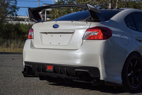 Subaru Single Exit Track Edition Exhaust