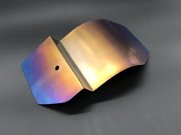 Evo 8/9 Titanium Power Steering Heat Shield