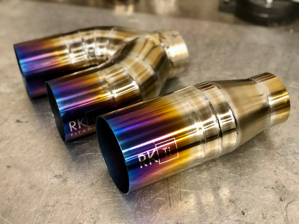 Subaru Signature Exhaust Tips (For RK Ti Exhaust only)