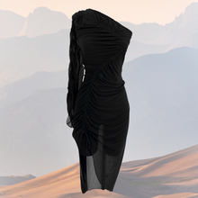 Load image into Gallery viewer, The Sienna Dress - Black Beauty