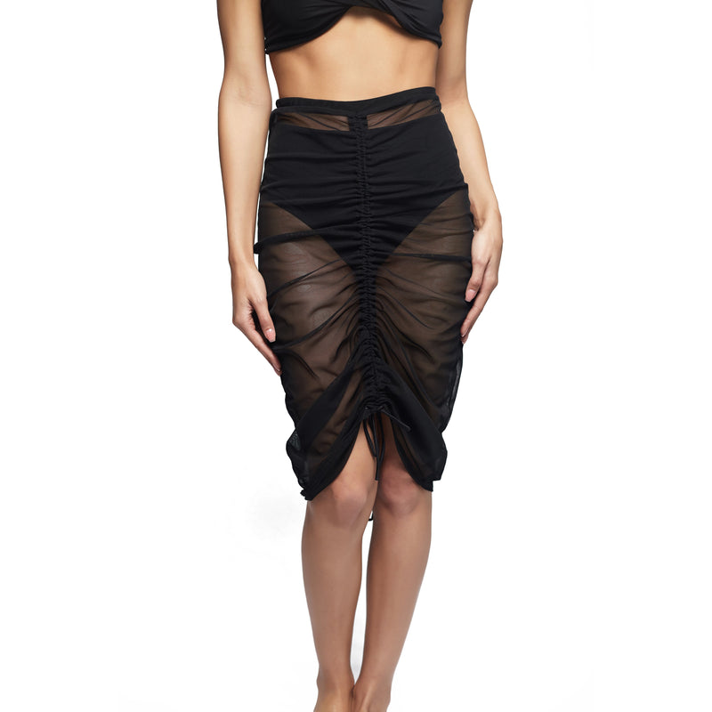 The Panellapy Skirt - Black Beauty