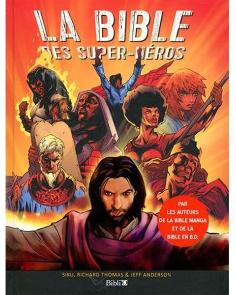 La Bible des Super-Heros