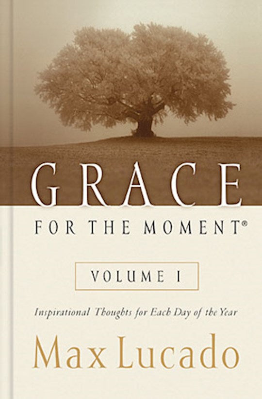 Grace for the Moment Vol 1 - Hard cover