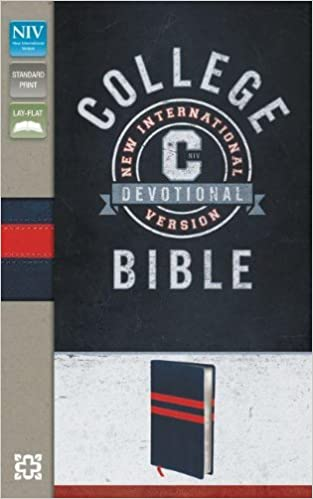 NIV College Devotional Bible Imitation Leather