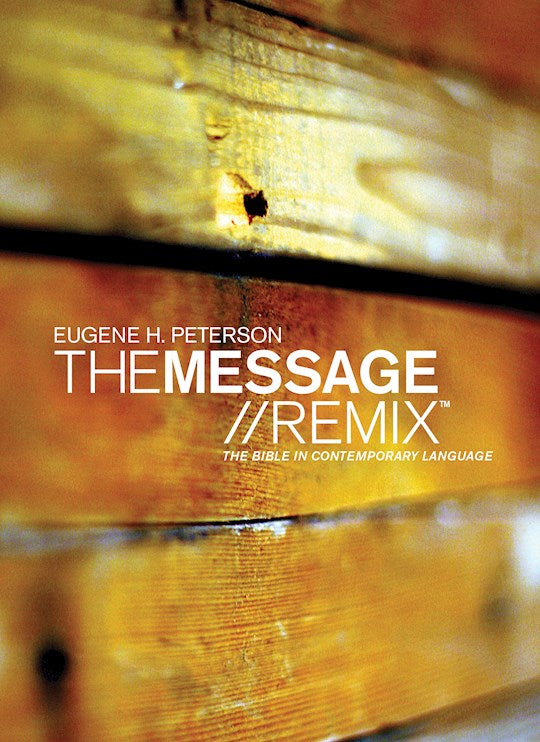 The Message Remix  Softcover