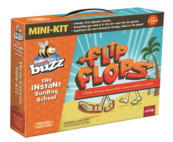 Buzz Mini-Kit: Pre-K & Kindergarten Flip Flops