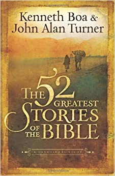 The 52 Greatest Stories of the Bible - A Devotional Study - Hard cover