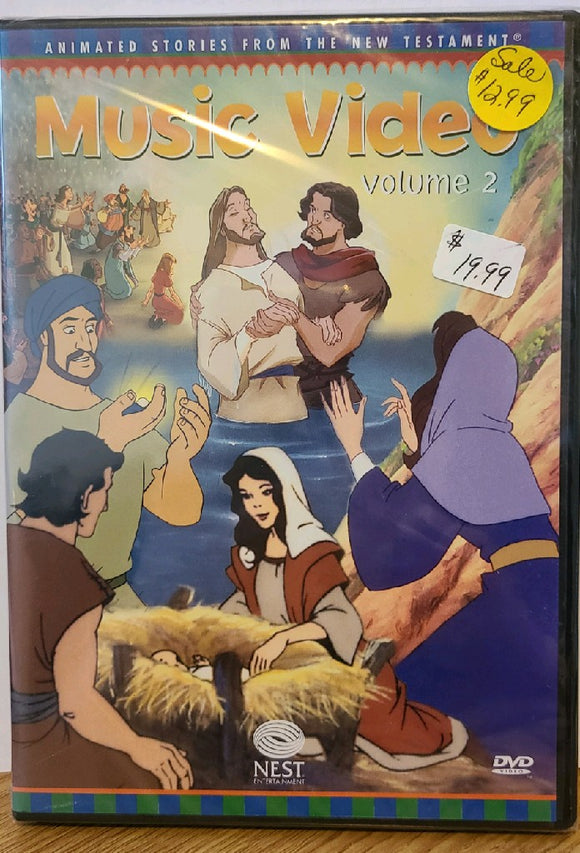 Animated Stories from the New Testament Music Video Vol 2 DVD