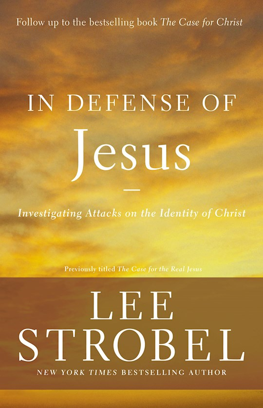 In defense of Jesus. Investigating attacks on the Identity of Christ.