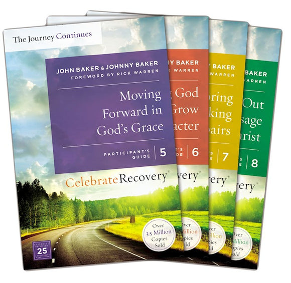 Celebrate Recovery: The Journey Continues-Participant's Guide Set V5-8