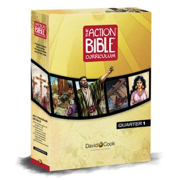 The Action Bible Curriculum Quarterly Kit - Preteen