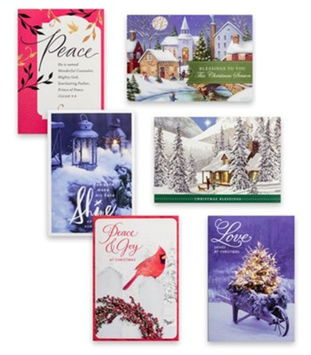 Inspirational Christmas cards - traditional scenes