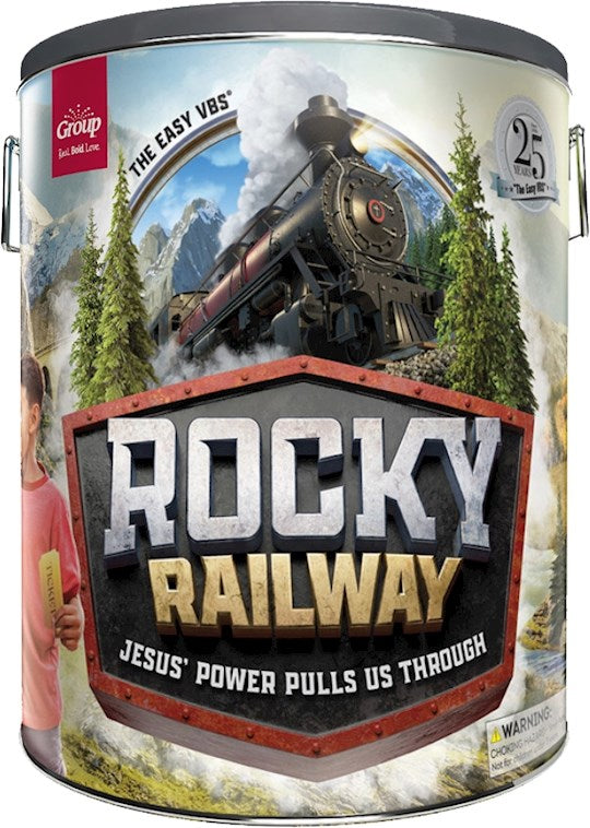 VBS-Rocky Railway-Ultimate Starter Kit Jesus' Power Pulls Us Through